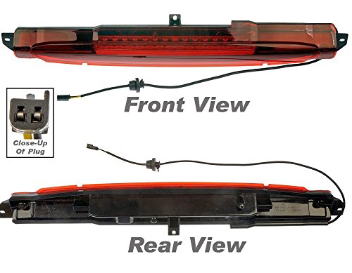 APDTY 034315 Brake Lamp / Light Assembly Third 3rd High Center Mount (Upgraded LED Design) (Replaces OE 15201921; 8152019210, 8-15201921-0) (03 Trailblazer 3rd Brake Light compare prices)
