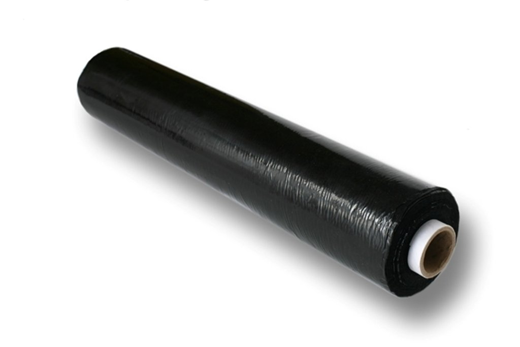 6 x High Performance Black Pallet Wrap (17/20mu) (500mm x 250m Flush Core) free P&P on all products) Propac Packaging