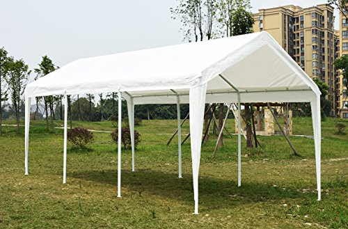 Quictent 20 X 10 Heavy Duty Carport Gazebo Canopy Party