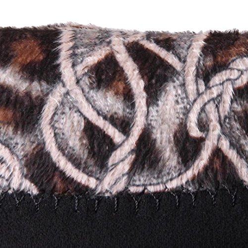 Pointed Ankle Nubuck Boots AIYOUMEI Autumn Block Black Winter Womens Toe Heel UEnxzF8n