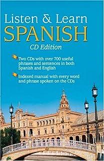 Listen & Learn Spanish (CD Edition)