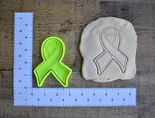 (Awareness ribbon cookie cutter 1069 Fondant cutter)
