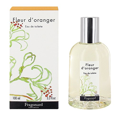Fragonard Parfumeur Fleur d'Oranger Eau de Toilette - 100 (Orange Blossom Jasmine Perfume)
