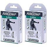 ミシュラン(Michelin) ラテックスチューブ AIRCOMPLatex A1 700×22-23C 仏式60mm 2本セット