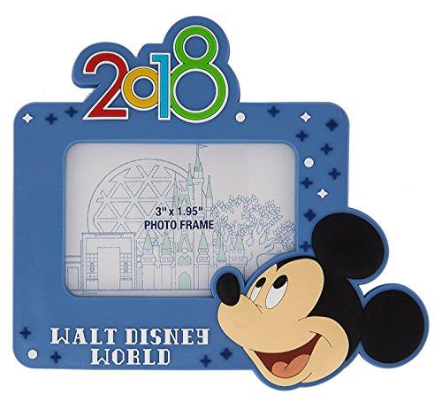 2018 Mickey Mouse Walt Disney World Magnetic Photo Frame Disney - World Disney Frames