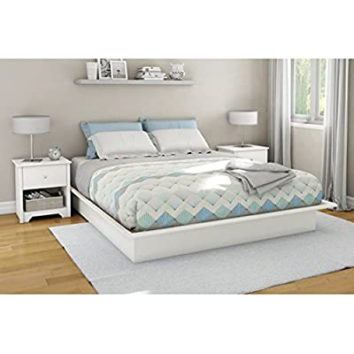 South Shore Furniture Step One Collection Queen Platform Bed