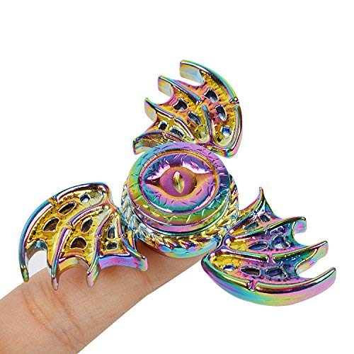 Xstar Batman Phoenix Snitch Fidget Spinner Hand Spinner Toy Focus Copper SNITCH Toy Stainless Steel Metal Fidget Toys Fingertip Gyro Stress Relief Cube Fun ADHD Toy Gifts For Kids and Adults(Rainbow)