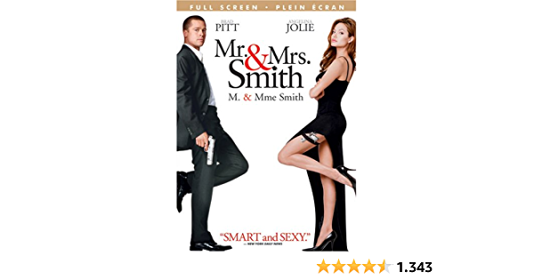 Mr. & Mrs. Smith [DVD]: Amazon.es: Brad Pitt, Angelina Jolie ...
