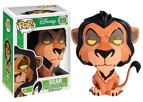 Funko POP! Disney: The Lion King Scar Action Figure]()