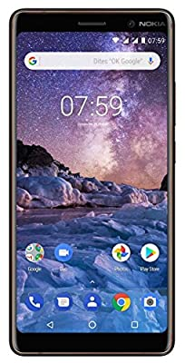 """Nokia 7 Plus 64GB - Dual SIM [Android 8.0, Android One, 6.0"""" IPS LCD, Dual 12,0MP, 4GB RAM, Snapdragon 660] Copper Black"""