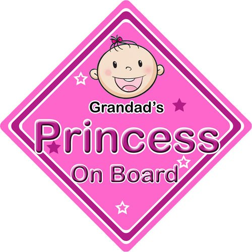 Non Personalised Child//Baby On Board Car Sign ~ Baby On Board ~ Pink