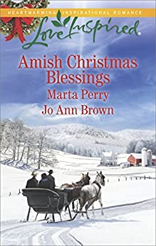 Amish Christmas Blessings: An Anthology (Love Inspired) by [Perry, Marta, Brown, Jo Ann]