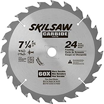 Skil 75724 24 tooth carbide circular saw blade 7 14 amazon skil 75724 24 tooth carbide circular saw blade 7 14 greentooth Image collections