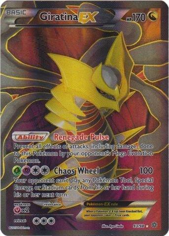 Pokemon - Giratina-EX (93/98) - Ancient Origins - Holo (Pokemon Giratina)