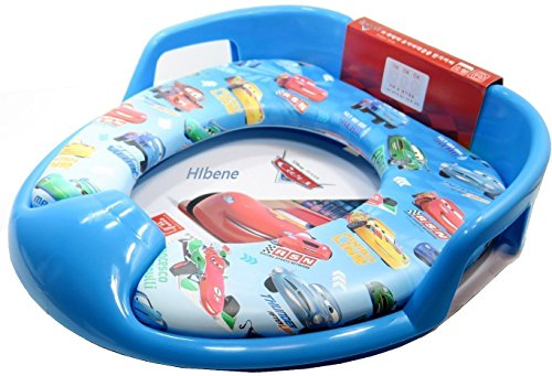 Cars Potty Seat Soft (Disney Cars Kid Soft Toilet Training Seat Cover (Mcqueen))