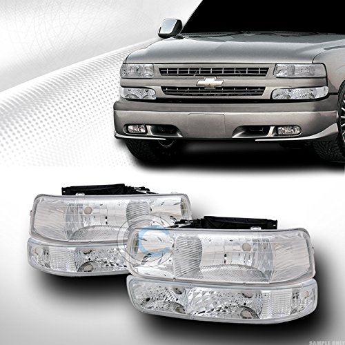 02 tahoe chrome headlights - 8