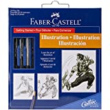 Illustration Set With Instructions and Tools To Learn Review and Comparison