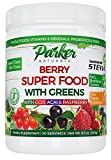 Amazing Grass Green Superfood Organic Powder with Wheat Grass and Greens, Flavor: Berry, 30 Servings