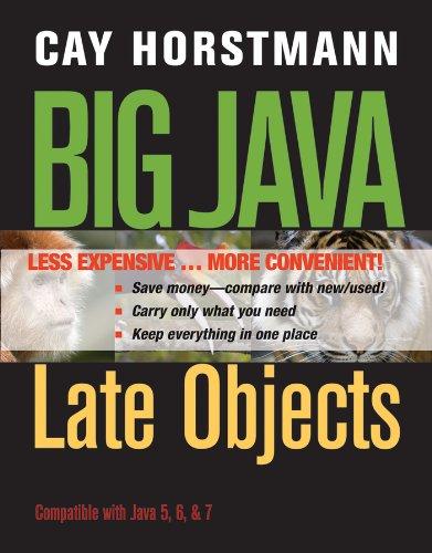Big Java, Binder Ready Version: Late Objects