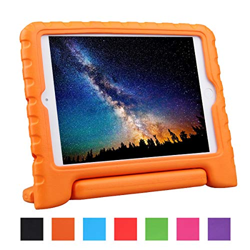 NEWSTYLE Shockproof Case with Built-in Handle for iPad Mini, iPad Mini 3rd Generation, iPad Mini 2 with Retina Display - Orange