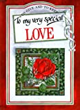 To My Very Special Love, Pam Brown, 1850152829