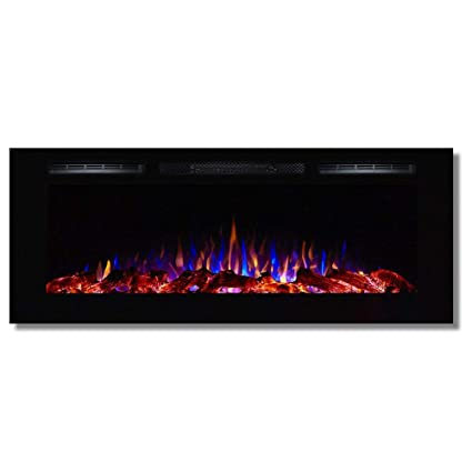Amazoncom Regal Flame Fusion 50 Log Built In Ventless Recessed