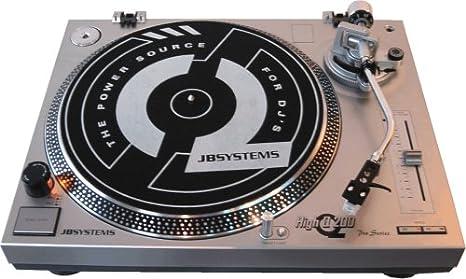 JB Systems High Q-20 DJ-tocadiscos de accionamiento directo ...