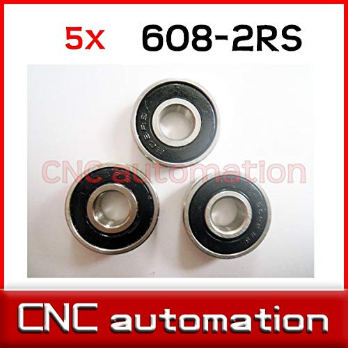 1 PCS 6902-2RS 15x28x7 mm Hybrid Ceramic Si3N4 Rubber Sealed Bearing Bearings