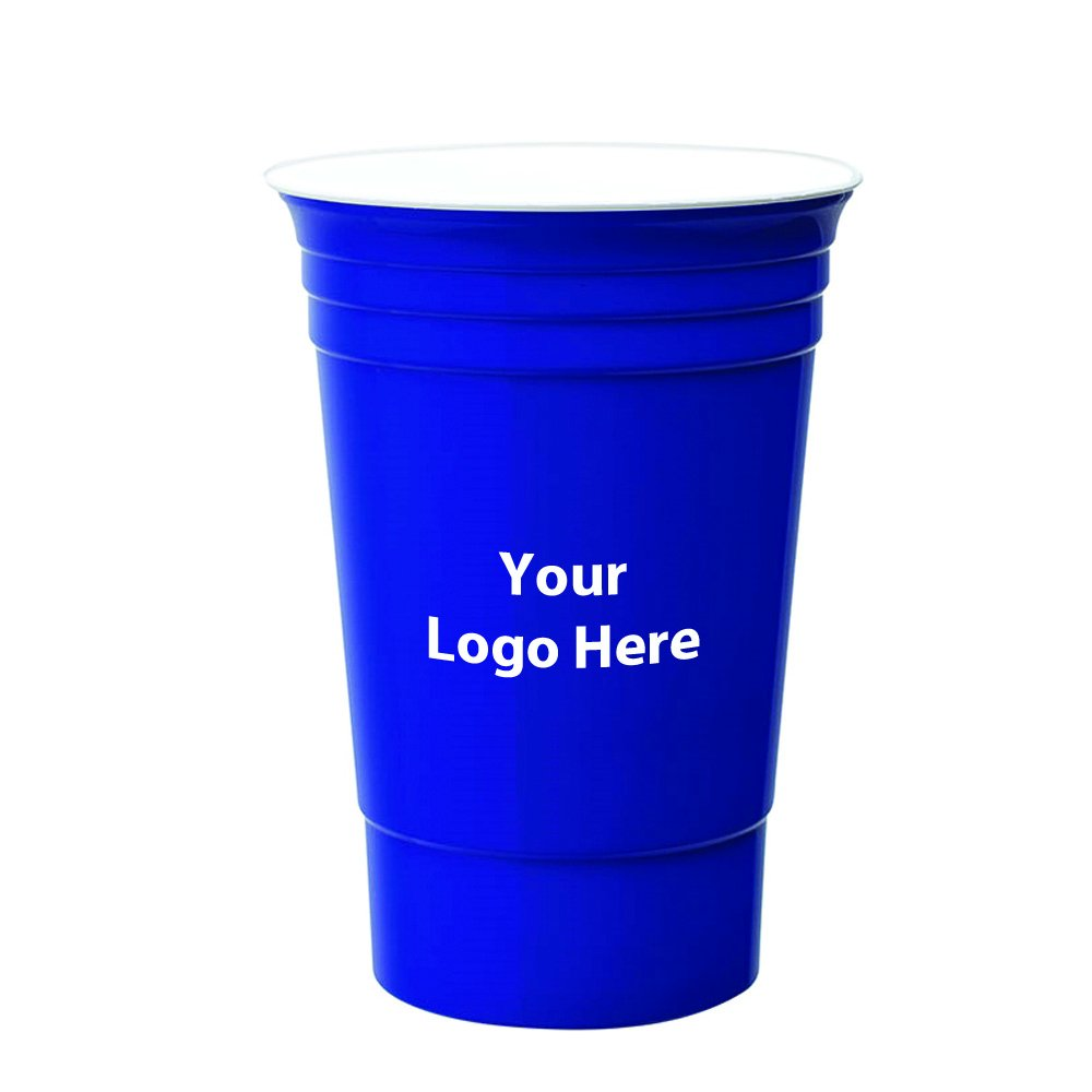 16 Oz. Double Wall Party Cup - 200 Quantity - $2.50 Each - PROMOTIONAL PRODUCT / BULK / BRANDED with YOUR LOGO / CUSTOMIZED by Sunrise Identity