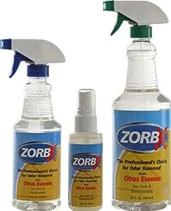 Amazon Com Zorbx Citrus Value Pack Odor Remover 16oz