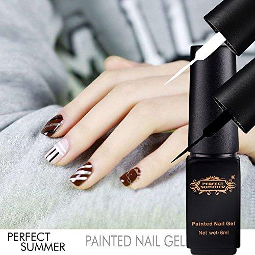 Perfect Summer Hot New 6pcs DIY 3D Nails Artistic Ideas D...
