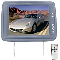 Pyle PL1104HRGR Adjustable Headrest with Built-In 11.3-Inch TFT LCD Monitor and IR Transmitter