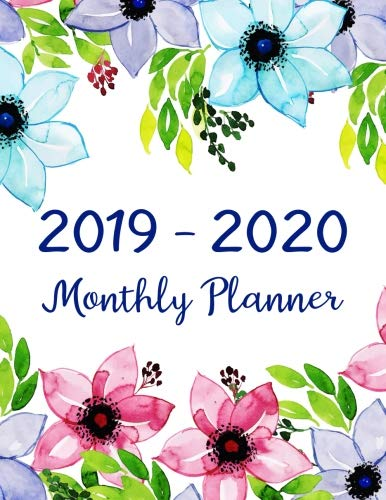 2019-2020 Monthly Planner: Two Year - Monthly Calendar Planner | 24 Months Jan 2019 to Dec 2020 For Academic Agenda Schedule Organizer Logbook and ... Monthly Calendar Planner 8.5 x 11) (Volume 5)