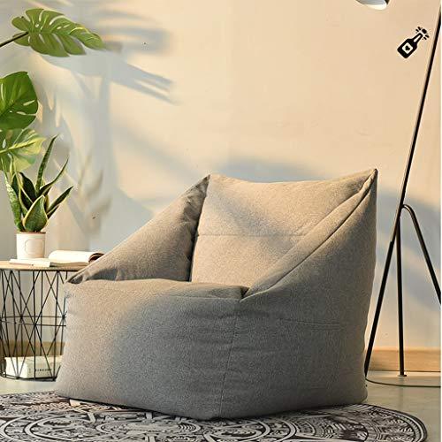 Soffväska supermjuk bönväska barn, vuxen stol minnesluddfri vattentät bönväska stol hushåll fyllningsmöbler (färg: C, storlek: 66 x 66 x 70 cm)