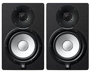 Yamaha HS7 Studio Monitor Pair + Stands + Auralex Mopads + Mogami Cables by Yamaha