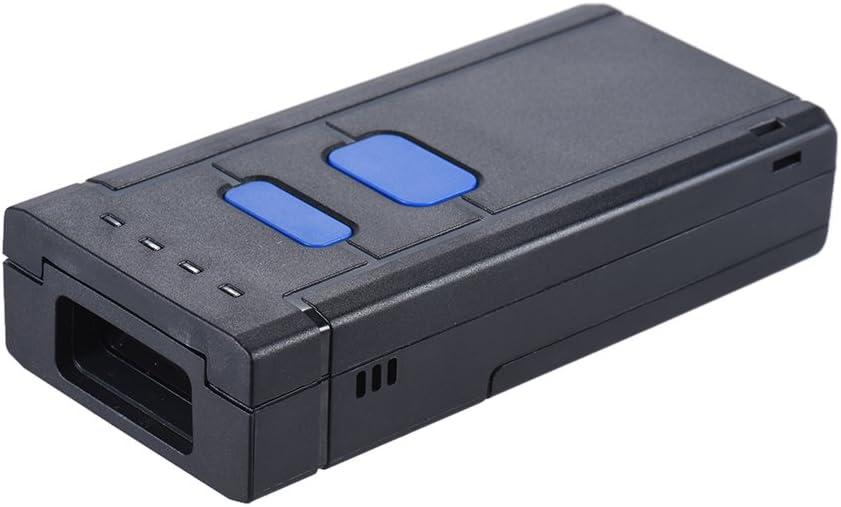 Aibecy Inalámbrico 1D Lector de Escáner Portátil Código Barras Apoyo para Windows XP 7.0 8.0 10 Sistema para Sistema Operativo Android Os