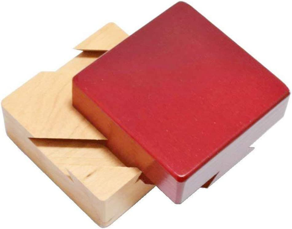 Yippel Secret Puzzle Box Brain Teaser Games - Caja de Regalo de Madera con Diamantes de imitación: Amazon.es: Hogar