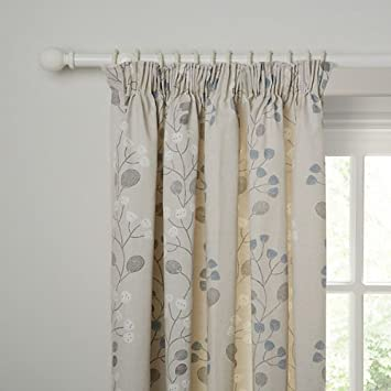 John Lewis Seedlings Cotton Curtains 90x90 in Pencil Pleat Heading ...