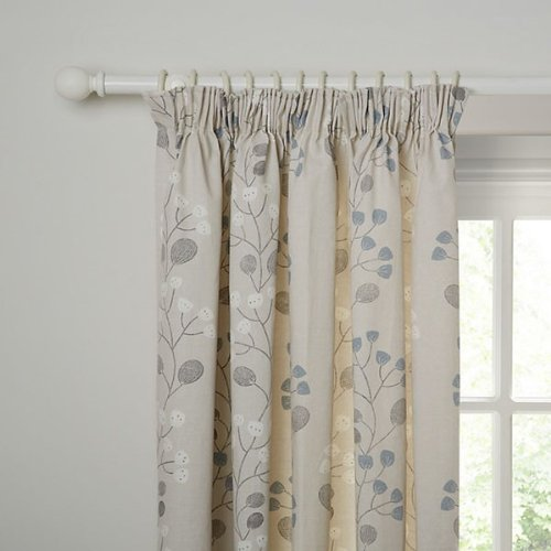 John Lewis Seedlings Cotton Curtains 90x90 In Pencil Pleat Heading Quot90x90quot Clearance Sale