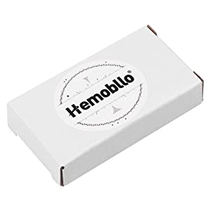 Hemobllo Clip-on Quartz Watch Night Light Alloy Unisex Backpack Buckle Belt fob Watch Black with White dial Ideal for Doctors Nurses Rock Climbing (Black)