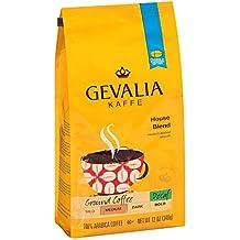 Gevalia House Blend Decaf Coffee, Medium Roast, Ground, 12 Ounce Bag