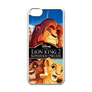 Lion King iPhone 5c White Cell Phone Case GSZWLW0926 Phone Case Sports