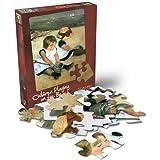 Cassatt Children Playing On The Beach 24 Piece Jigsaw Puzzle
