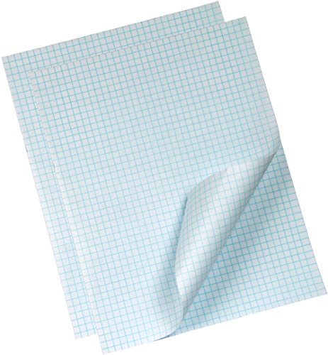 (Trusty Graph Paper, 8-1/2 x 11-inches, 4 Squares Per Inch, 2 Quadrille Ruled Pads, 50 Sheets/Pad (100 Sheets))