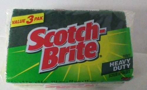 Scotch Brite Heavy Scrub Sponges