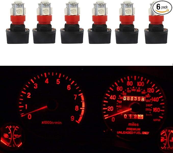 12 TWIST LOCK SOCKET T10 LED INSTRUMENT PANEL CLUSTER DASH LIGHT BULB PC 168 194