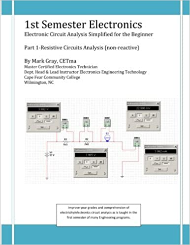 1st Semester Electronics: Part 1-Basic DC Circuit Analysis