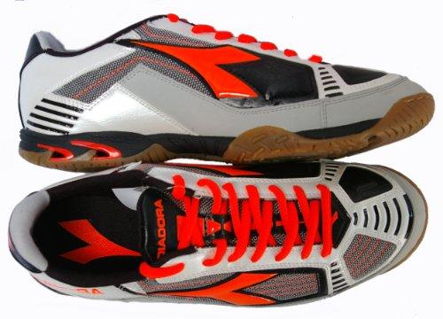 Diadora - Zapatillas de fútbol sala para hombre ROSSO - ARGENTO