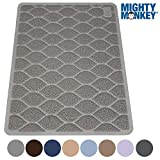 "The Original MIGHTY MONKEY Premium Non-Slip Cat Litter Mat, Phthalate Free, 35"" x"