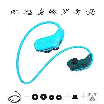 ONLYGAZE Auriculares De Natación Auriculares De Buceo Reproductor ...